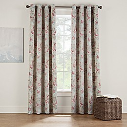 Eclipse Twilight Luna Floral Grommet Room Darkening Window Curtain Panel