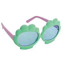 On The Verge Seashell  Kids Fashion Sunglasses in Mint