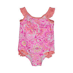 Tommy Bahama® Paisley Floral One-Piece Swimsuit in Pink