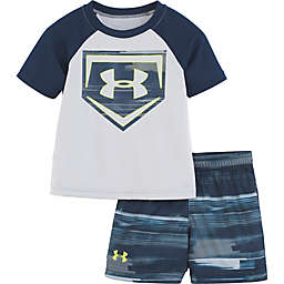 df838dc38 Under Armour® 2-Piece Shirt and Short Set in Grey