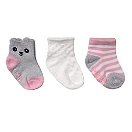CuddlDuds® Low-Cut Critter-inspired Socks (3-Pack)