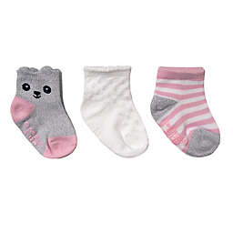 CuddlDuds® Low-Cut Critter-inspired Socks (3-Pack)