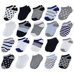 Capelli New York 20-Pack Assorted Socks