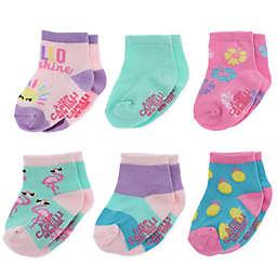 Capelli New York 6-Pack Tropical Fun Socks
