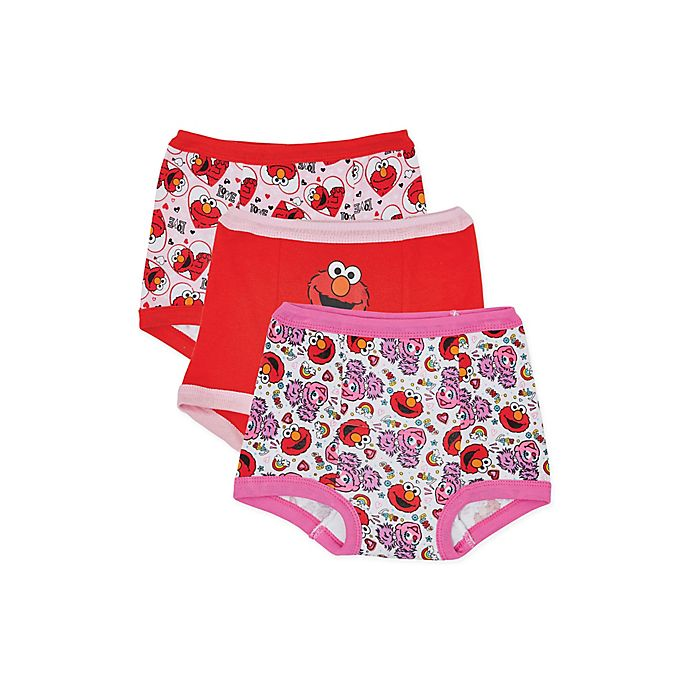 Alternate image 1 for Sesame Street® Elmo 3-Pack Training Pants