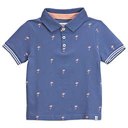 Sovereign Code® Palm Trees Polo Shirt in Blue