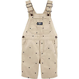 OshKosh B'gosh® Anchor Embroidered Shortall in Khaki