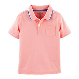 OshKosh B'gosh® Tipped Polo Shirt in Pink