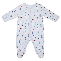 Sterling Baby Vacation Footie in Blue