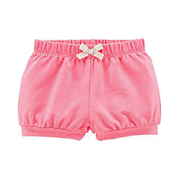 carter's® Bow Front Short in Pink