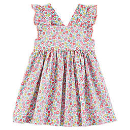 OshKosh B'gosh® Floral Flutter Sleeve Dress