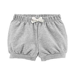 carter's® Bow Front Short in Grey