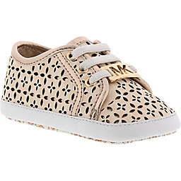 MICHAEL Michael Kors Borium Perferated Sneaker in Rose Gold