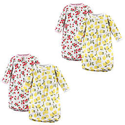 Hudson Baby® Size 0-3M 2-Pack Fruit Wearable Blankets