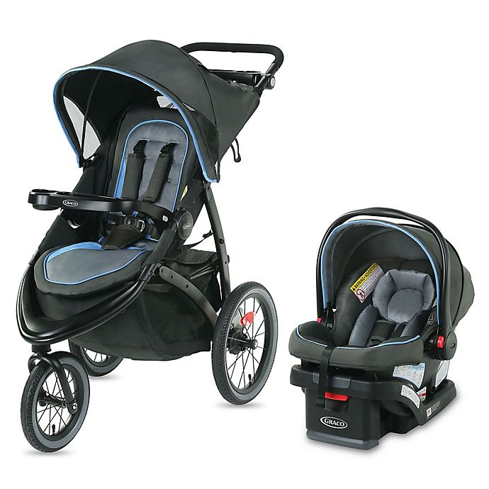 Alternate image 1 for Graco® FastAction™ Jogger LX Travel System in Cielo
