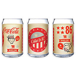 Luminarc Coca-Cola® Retro Can Glasses (Set of 4)