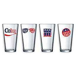 Luminarc Coca-Cola® Americana Pub Glasses (Set of 4)