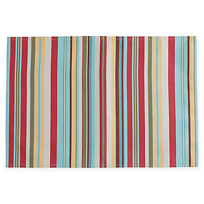 Design Imports Summer Stripe Indoor/Outdoor Placemats (Set of 4)