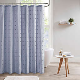Urban Habitat Brooklyn Jacquard Shower Curtain