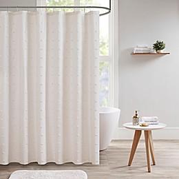 Urban Habitat Brooklyn Jacquard Shower Curtain