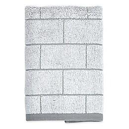 DKNY Grey Tile Hand Towel