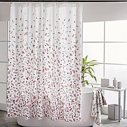 DKNY Petals Shower Curtain in Blush