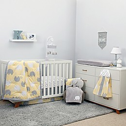 NoJo® Dreamer Elephant 8-Piece Crib Bedding Set in Yellow