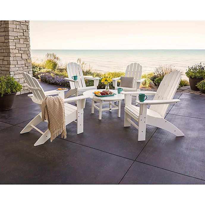 Vineyard 5 Piece Oversized Adirondack