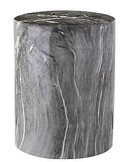 Safavieh Forster Marble Garden Stool in Black