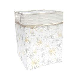 Lambs & Ivy® Signature Moonbeams Storage/Hamper in White/Gold