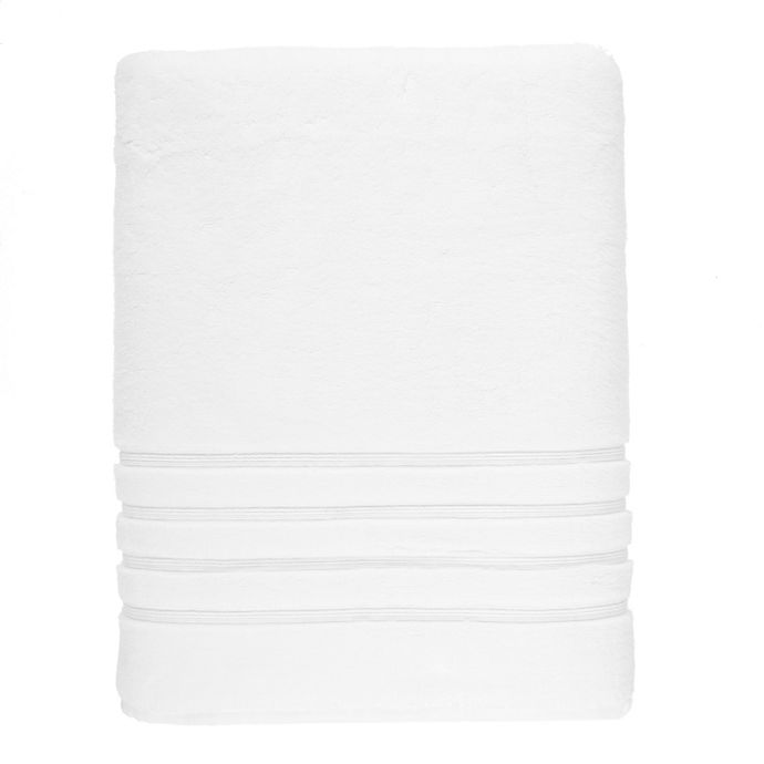 Alternate image 1 for Wamsutta® Collection Turkish Bath Sheet in White