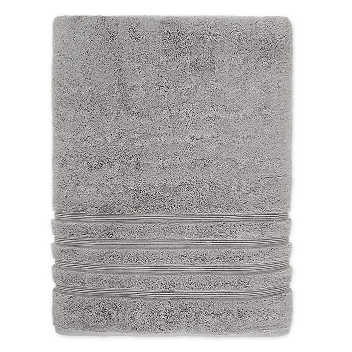 Alternate image 1 for Wamsutta® Collection Turkish Bath Sheet in Grey
