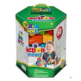 Crayola Kids® Work 60 pc Action Blocks Hex Box