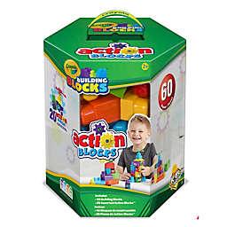 Crayola Kids® Work 60 pc Action Blocks Hex Box