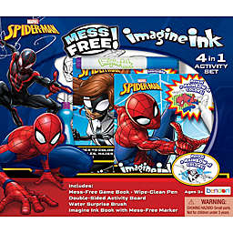 Marvel® Spiderman Imagine Ink Magic Ink with Market Activity Book