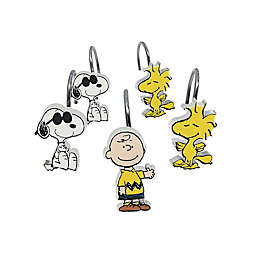 Peanuts™ 12-Count Shower Curtain Hooks