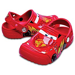 Crocs™ Fun Lab Cars Kid's Clog in Red