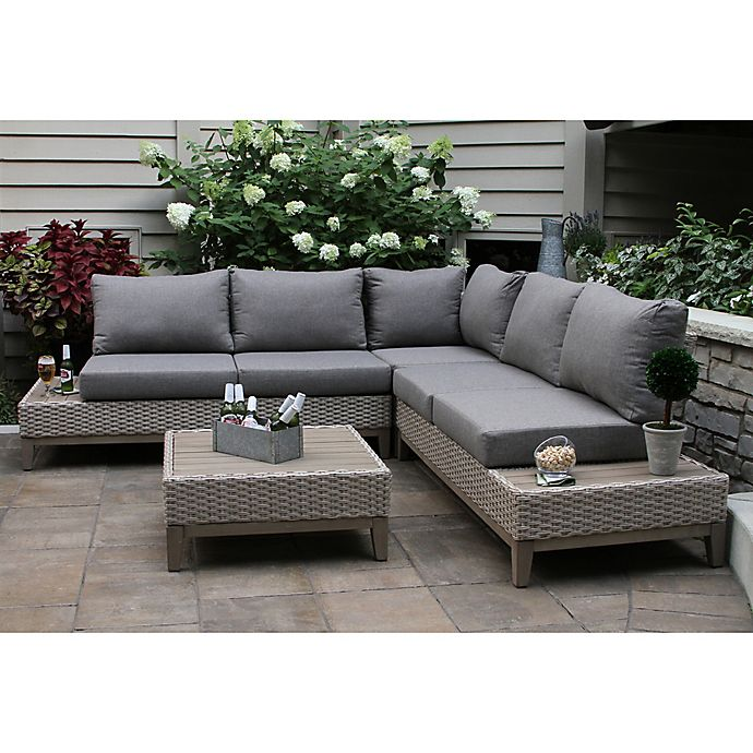 Outdoor Interiors® Eucalyptus Patio Furniture Collection