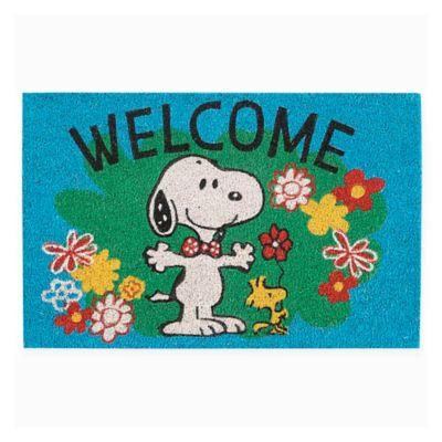 Peanuts 174 Snoopy And Woodstock Spring Welcome 18 Quot X 28