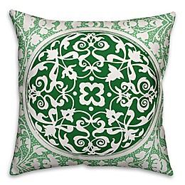 Designs Direct St. Patrick's Irish Medallion Square Throw Pillow