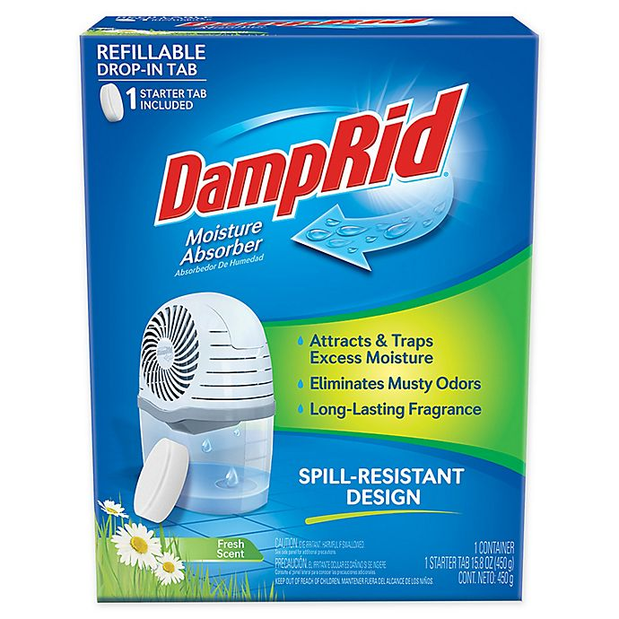 Alternate image 1 for DampRid® Refillable Moisture Absorber Drop-In Tab