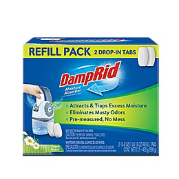 DampRid® 15.8 oz. 2-Pack Drop In Tab Refills