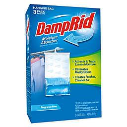 DampRid® Fragrance Free 3-Pack Hanging Bags