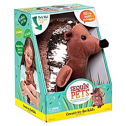 Sequin Pets Happy the Hodgehog Plush Toy