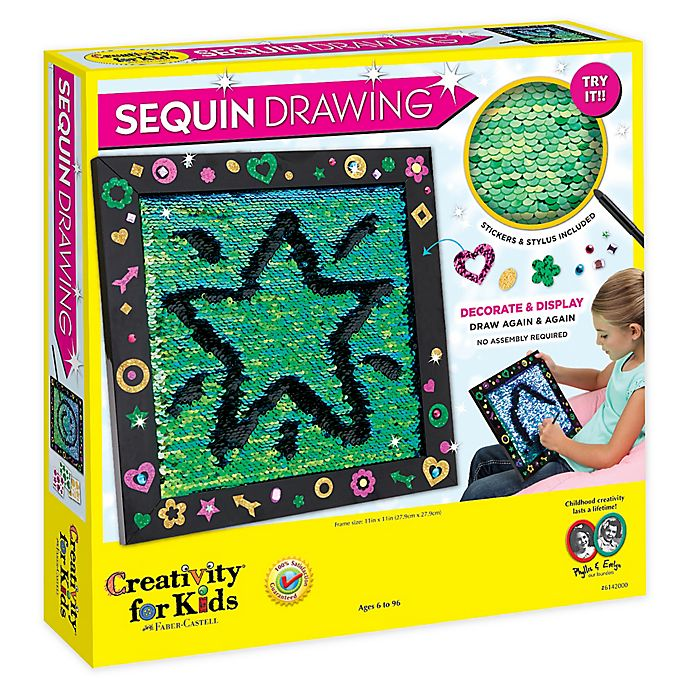 Alternate image 1 for Creativity for Kids Sequin Drawing Toy