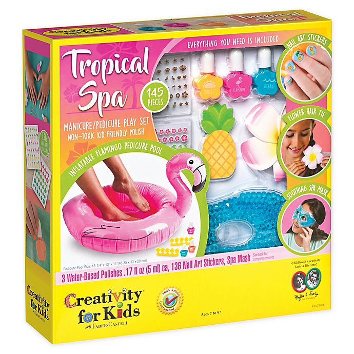 Alternate image 1 for Tropical Spa Kit