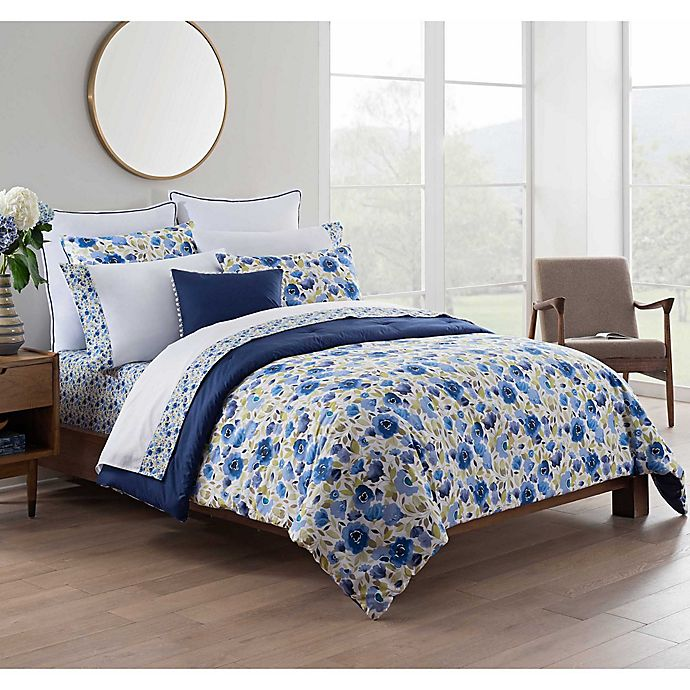 Alternate image 1 for Kim Parker Leila 7-Piece Reversible King Comforter Set