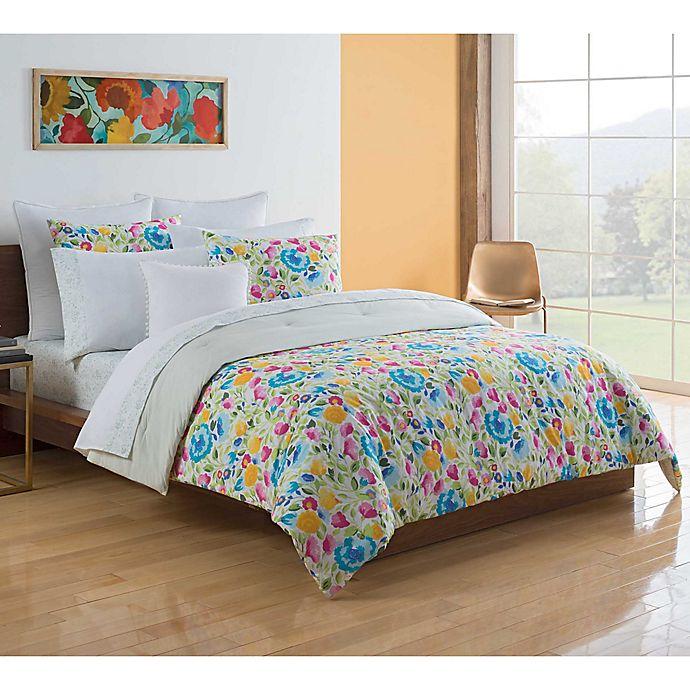 Alternate image 1 for Kim Parker Primavera 7-Piece Reversible King Comforter Set