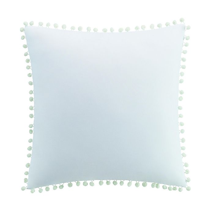 Alternate image 1 for Kim Parker Primavera Square Throw Pillow in Green/Aqua