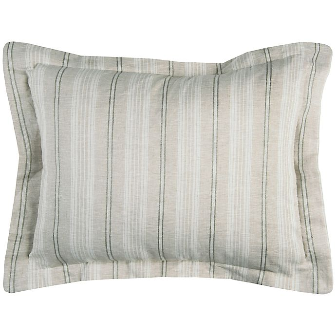 Alternate image 1 for Rizzy Home Adeline King Pillow Sham in Ivory
